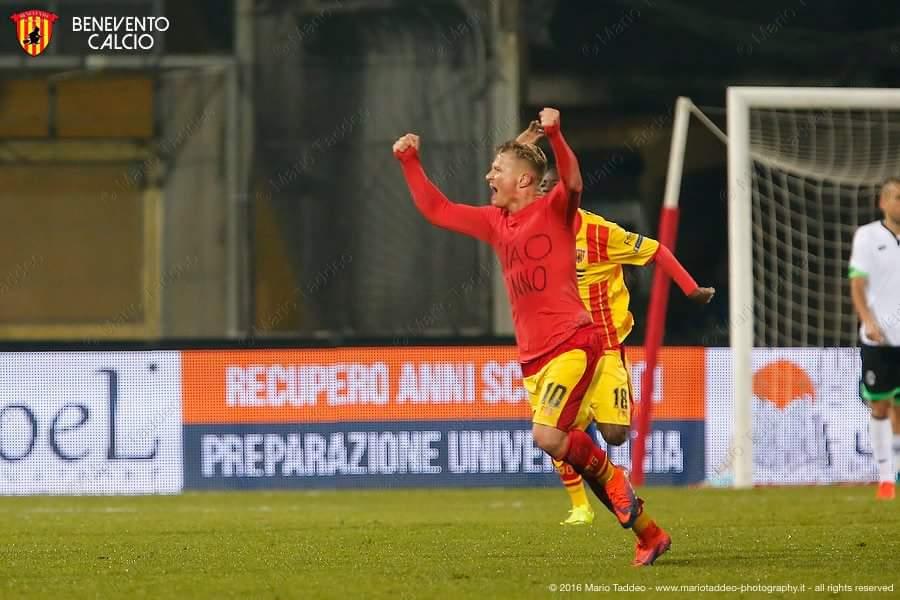 Foto di Benevento Calcio Pagina Ufficiale Facebook