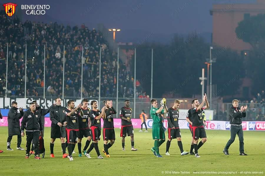 squadra Benevento