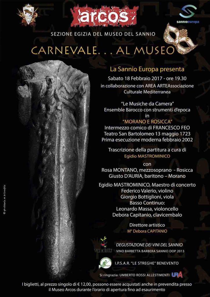 Locandina carnevale museo