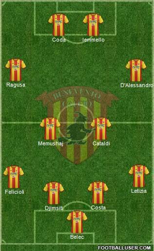 top 11 Benevento2